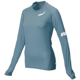 inov-8 Base Elite LS Shirt Women, niebieski